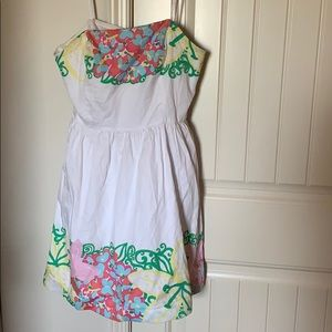 Lilly Pulitzer great condition strapless dress